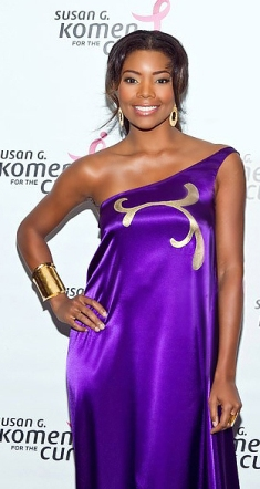 Gabrielle Union in gown by Aidah